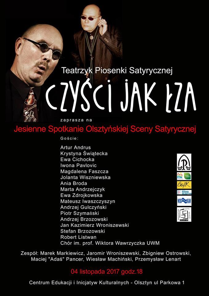 Czyści jak Łza - Jesienne Spotkanie Olsztyńskiej Sceny Satyrycznej